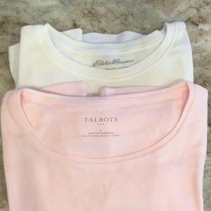 Talbots & Eddie Bauer T-shirt